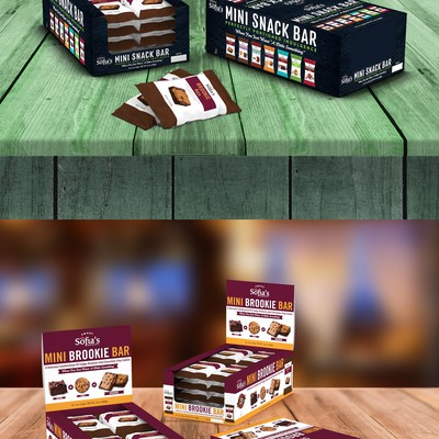 Product packaging (box) for 1.5 Mini Bars