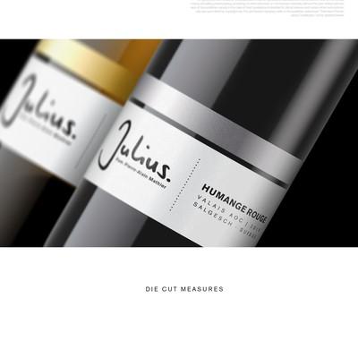 Upgrading wine labels set