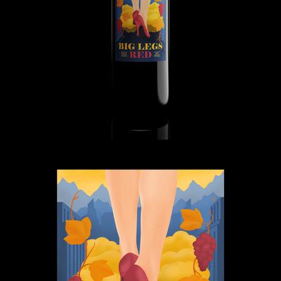 Custom Illustrated Wine Label