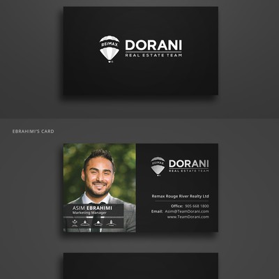 Stationery Design For Dorani Real Estate Team