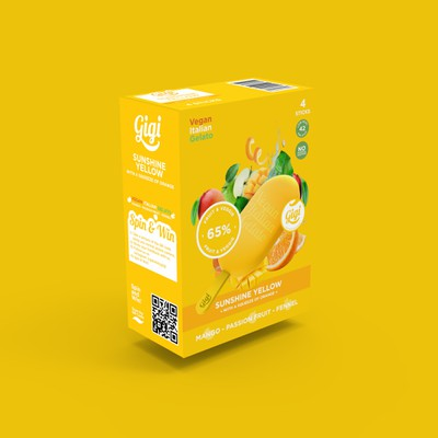 Vegan Gelato Box Design