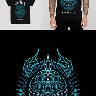 Merchandise Design for Metal Band