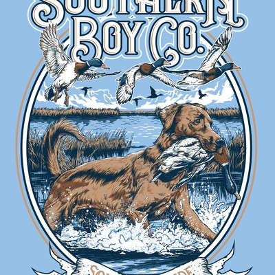 T_shirt Design for Southern Boy Co.