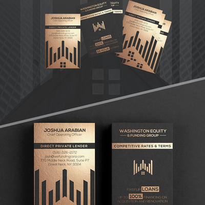 Business Cards for Funding Corp