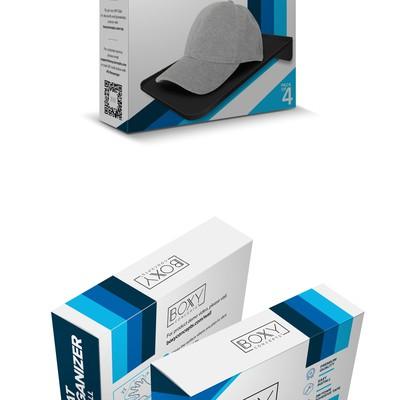 Boxy Concepts Hat Organizer Box