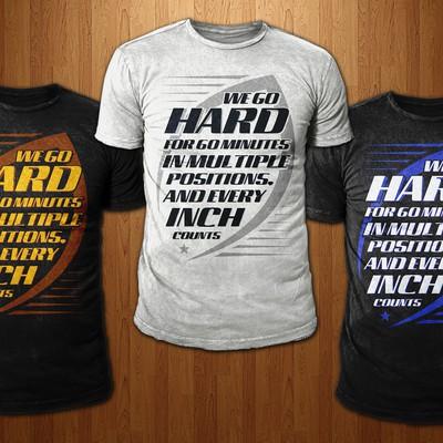 Simple American Football Shirt (Text)