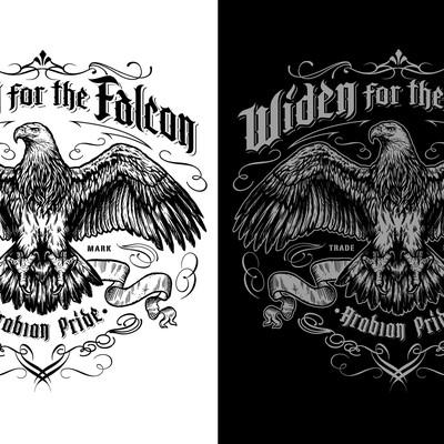 T_shirt Design for Arabian Pride