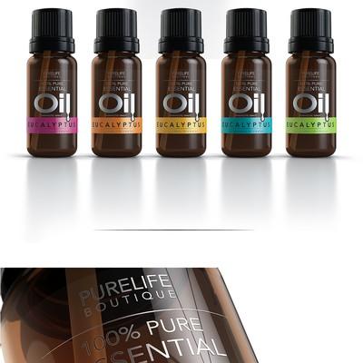 Essential Oils - Label Design