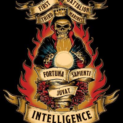 Marine unit T-shirt