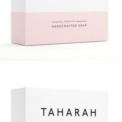 Modern natural soaping simple soapbox design