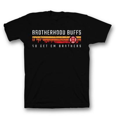 The Brotherhood Buffs New Firefighter T-Shirts