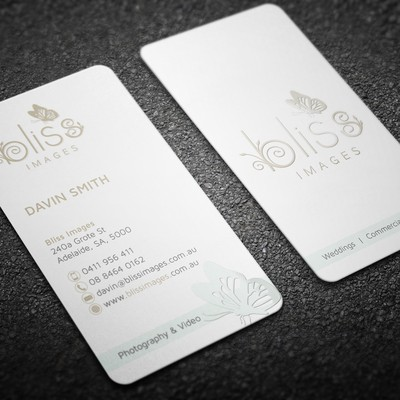 Business card for Bliss images
