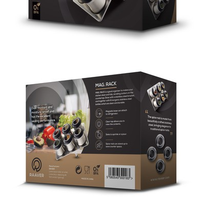 RAAVER Magnetic Rack Box Design