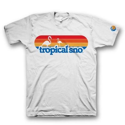 t shirt design for tropical sno