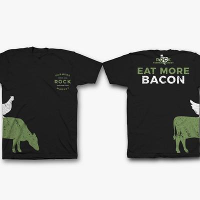 ROCK farm t shirt design