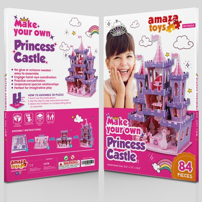 Make your own toy packaging design