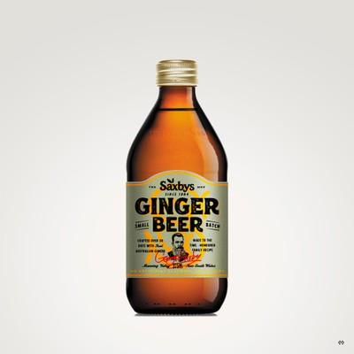 Label Design for a Ginger Beer Co