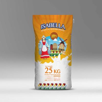 Packaging Isabella Milk