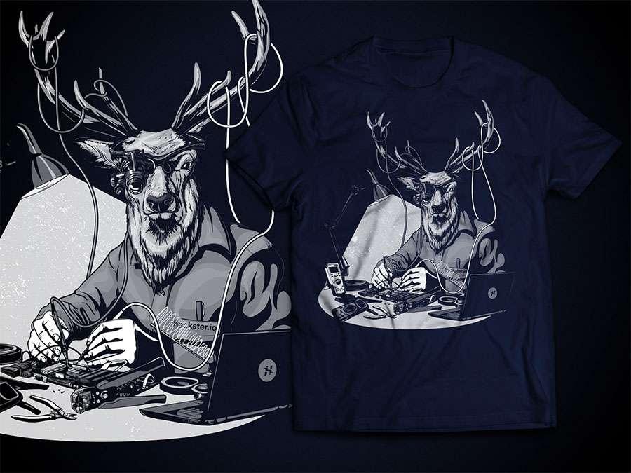 deer t-shirt top 9