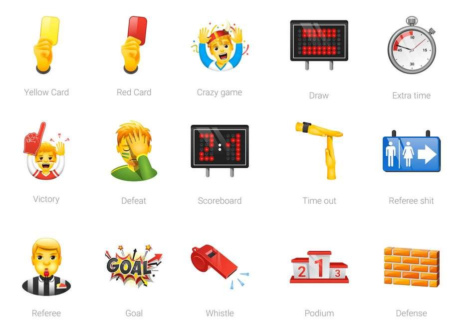 sports emoji