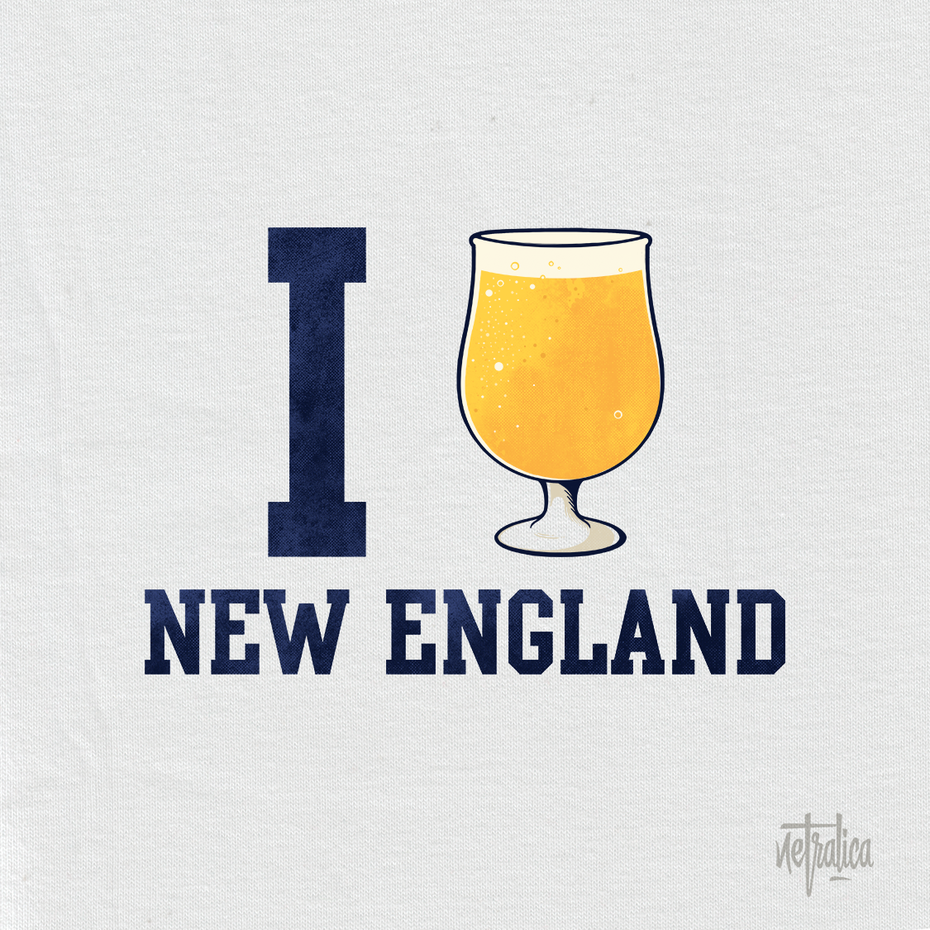 new england ipa t-shirt