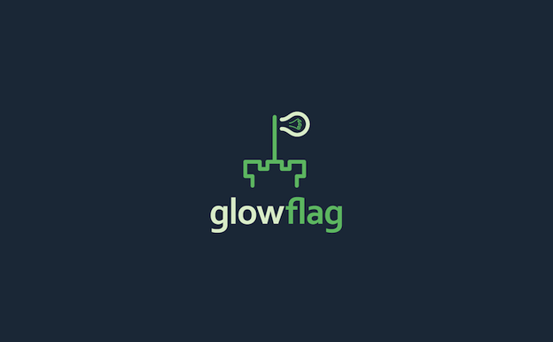 Logo for glowflag by Sava Stoic on 99designs