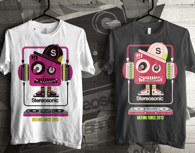 Stereosonic T-shirt Design Contest winner #2