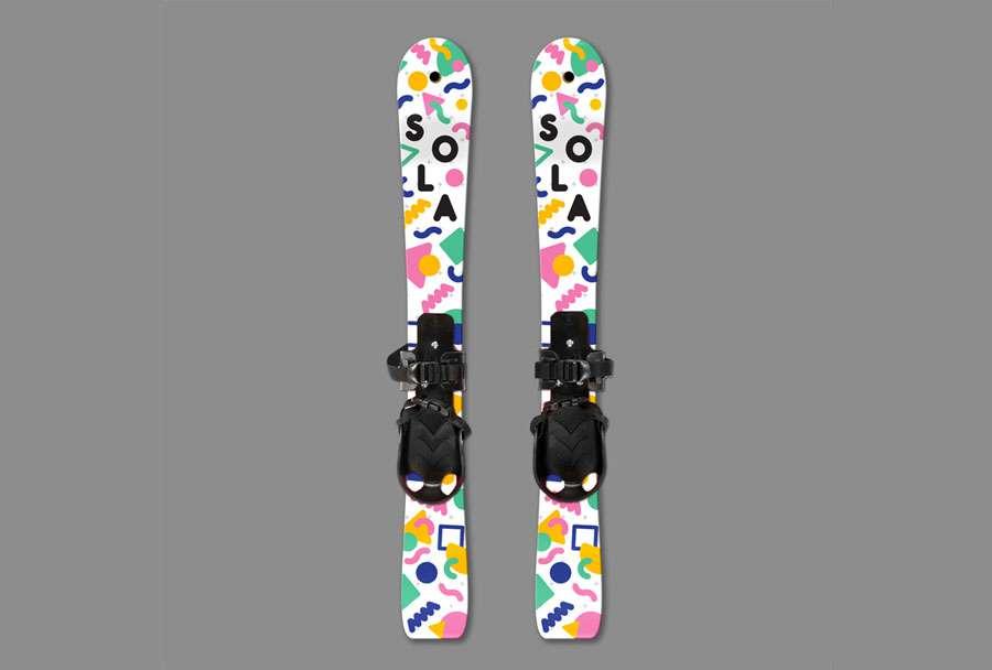 geometric ski design