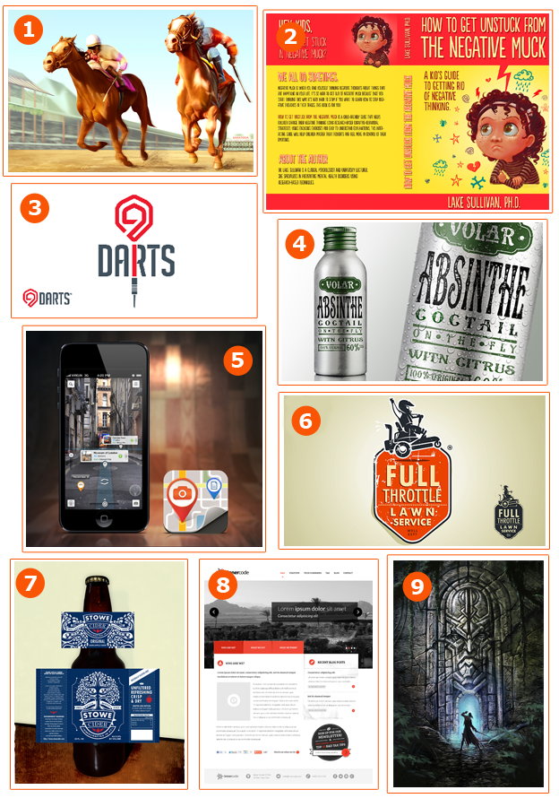 Top 9 for March, 2013