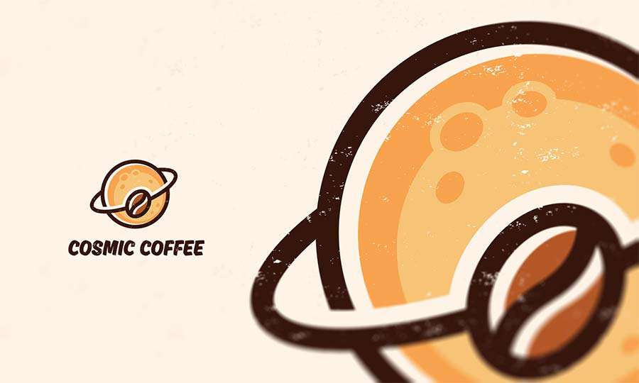 cosmic coffee logo