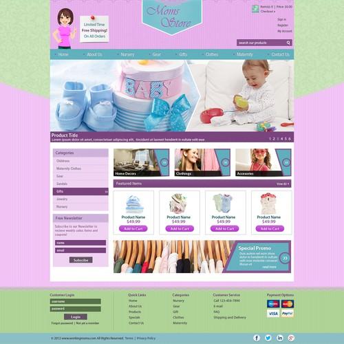 Diseño finalista de Mel d'Web Carpenter