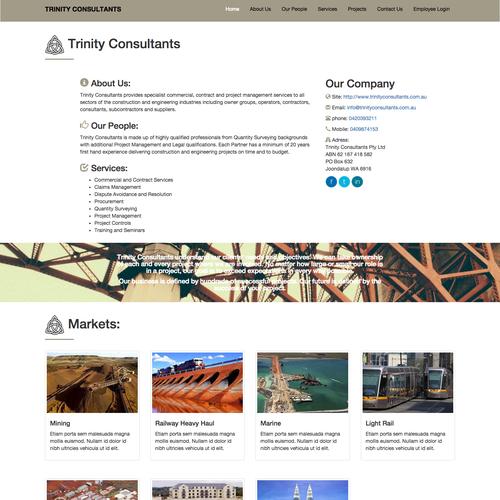 Diseño finalista de Bamboo Web Apps