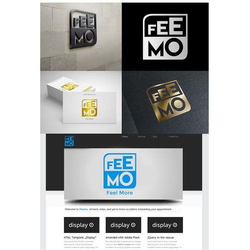 FEEMO IS LOOKING FOR A SIMPLE AND CLEVER LOGO DESIGN Design por Yudha FProd