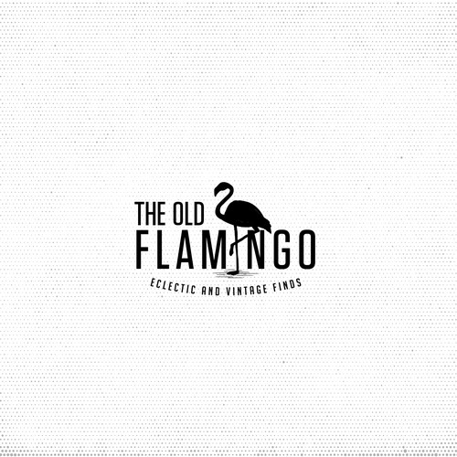 Create hip logo for THE OLD FLAMINGO that specializes in eclectic, vintage, upcycled furniture finds Design by Spoon Lancer