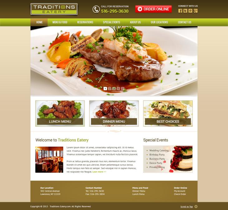 Winning design by WebFiner