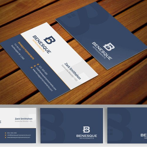 Create an eye catching business card for a improvementsrenovations runner up design by totok budiarto colourmoves Images