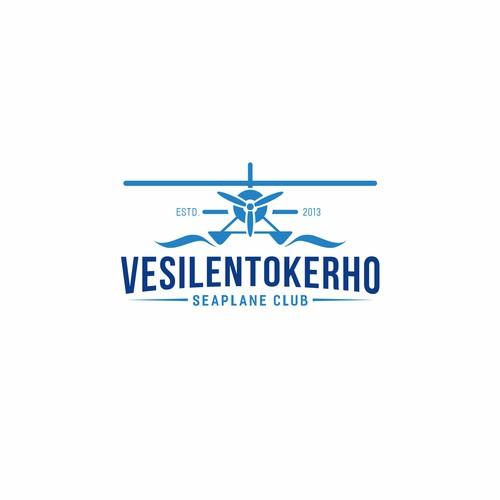 Modern logo for seaplane flying club Design by stanislav_p