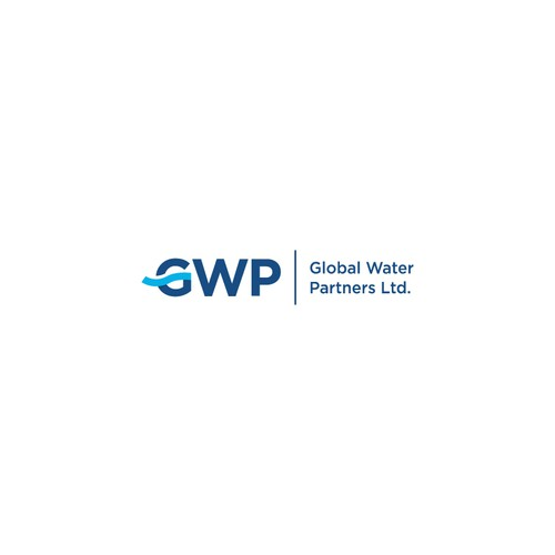 Create a clean yet dynamic logo for a global water treatment