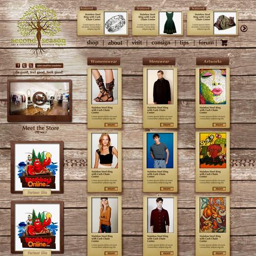 Diseño finalista de webstasy