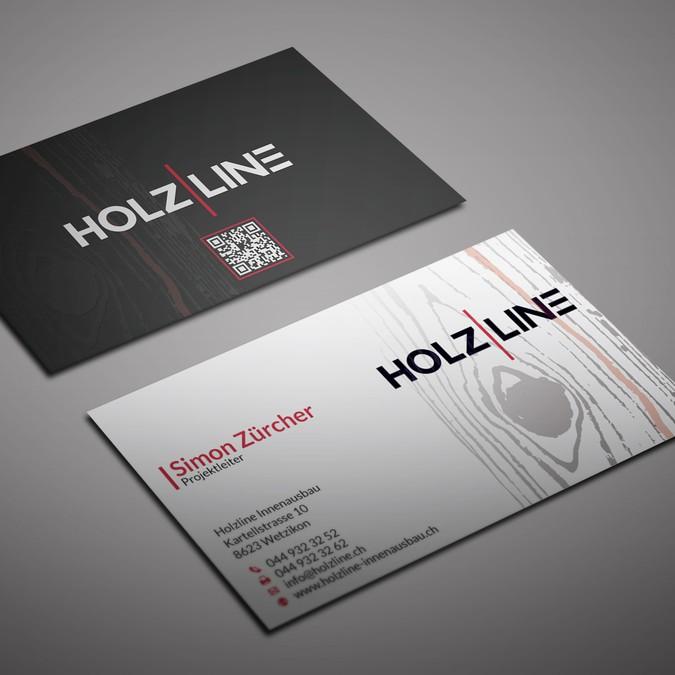 Erstellt Eine Saubere Und Moderne Visitenkarte Business