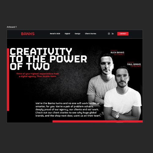 Runner-up design by -∂esign™