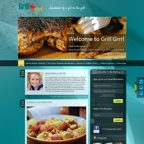 Diseño finalista de webdesigncenter