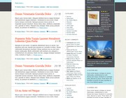 Custom wordpress theme design by Babybug