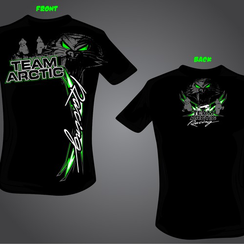 Runner-up design by one3designs