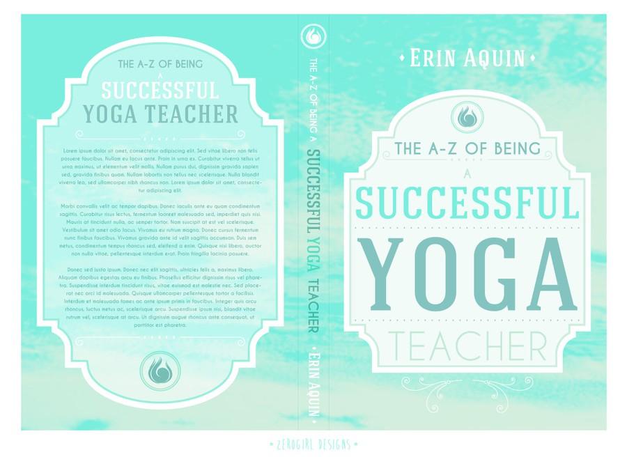 Yoga Book Cover Design : Design a book cover for aquin yoga buchcover wettbewerb