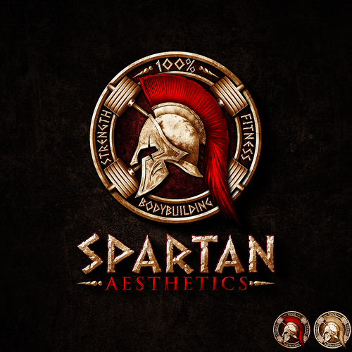 New logo for bodybuilding coaching company spartan for Spartan 6 architecture