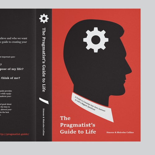 Book Cover Design Guide : Design a book cover for the pragmatist s guide to life