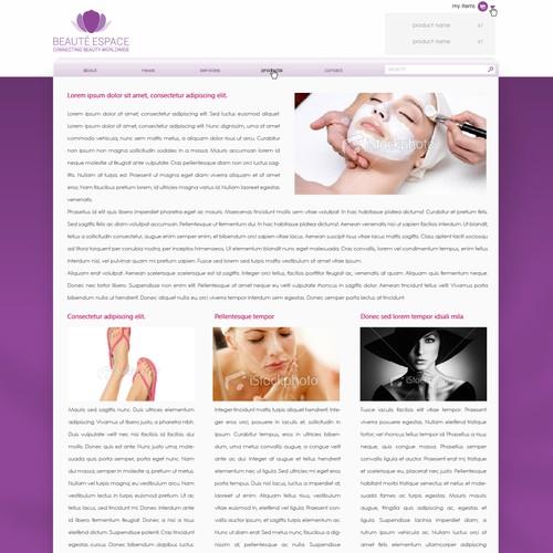 Diseño finalista de Webzuzen