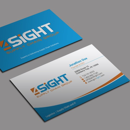 Create a capturing new business card for our company business card runner up design by kaylee ck colourmoves