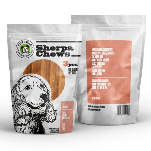 Purewag - Pet Products Packet Design Design by Mirko Romani